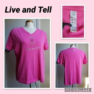 Live and Tell Apparel Top - Pink - XL - Tee Shirt